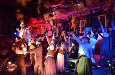 Beautiful pics from the performance of Les Mis by Explayarte at Xcaret