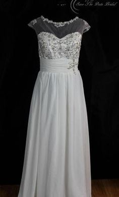 Other Capped Lace: buy this dress for a fraction of the salon price on PreOwnedWeddingDresses.com