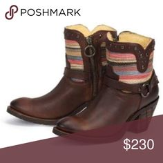 Leather booties Super cute! Great detail! Shoes Ankle Boots & Booties