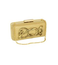 Gold Serpents Minaudiere | Whiting & Davis