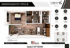 Apartaestudios en chico sobre planos con los mejores precios y la mas alta valorizacion y rentabilidad de bogota urban k Floor Plans, Urban, Buildings