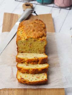 Bacon, Cheese and Zucchini Bread - Cooking for Busy Mums Zucchini Cheese, Zucchini Bread, Lunch Box Recipes, Lunchbox Ideas, Cheese And Bacon Muffins, Pretzel Dough, Dough Recipe, Bread Baking, Breads