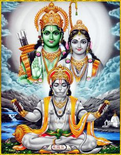 "☀ JAI SITA RAM ॐ ☀ ""You are the Supreme Personality of Godhead, the origin and Supreme Lord of all living entities. You have arisen to disseminate the rays of the sun in order to dissipate the darkness of the ignorance of the universe. Hanuman Photos, Hanuman Chalisa, Shiva Photos, Durga, Hanuman Images Hd, Shri Ram Wallpaper, Lord Shiva Hd Wallpaper, Lord Ganesha Paintings, Lord Shiva Painting"