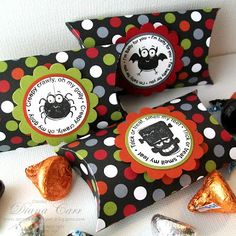 Stampin' Up! Batty For You Pillow Boxes - Halloween Party Favors