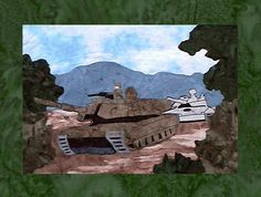 US Army - Block 9 - Abrams Tanks - Pattern Only