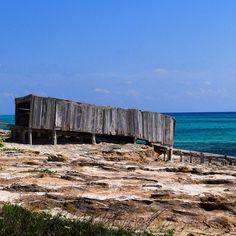 Embarcadero en Formentera
