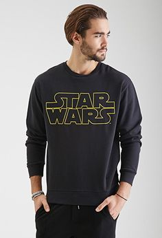 21Men (Forever 21) - Star Wars Sweatshirt, Men's small (can fit women, loose on s/m to form fitting on women xl) - Like new - $10