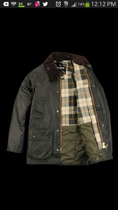 Classic Bedale Waxed Jacket by Barbour
