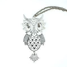 Articulating Owl Necklace <3