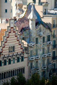 Antoni Gaudi - Barcelona, Spain