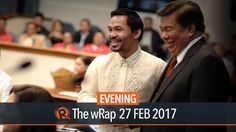 Senate ousts Drilon, LP senators from key posts - WATCH VIDEO HERE -> http://dutertenewstoday.com/senate-ousts-drilon-lp-senators-from-key-posts/   The Senate on Monday, February 27, stripped 3 Liberal Party senators and their ally of committee chairmanships, following the arrest of their party mate Senator Leila de Lima. Full story:  News video credit to Rappler's YouTube channel