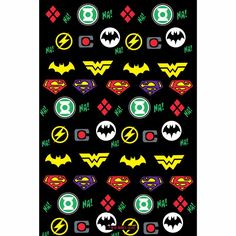Justice League Logo Doodle Wallart | Buy Authentic  Superhero Posters Online | The Souled Store