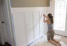 Jenna Sue: Foyer Board & Batten Reveal