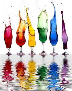 Very Cool Rainbow Water Photo