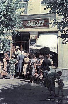 Ателье мод. 1957г.  Фото Ю. Кривоносова