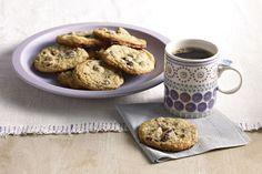 Biscuits au pouding à la vanille et aux morceaux de chocolat