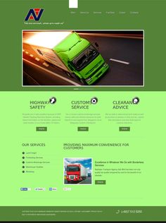 Transport Service Website Design by Aspire Idea - Web Design Johor Bahru.  Please visit http://www.aspireidea.net for more information.