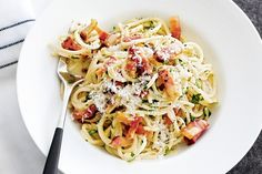 Quick, easy and delicious - try this #carbonara and see if you think it's the best!