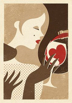 Winter Wine by Zara Picken Illustration on Flickr.