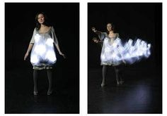 lights up when sound of music is detected