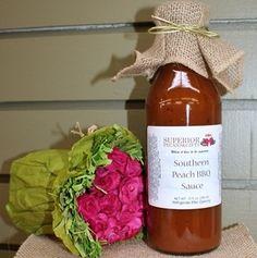 Southern Peach BBQ Sauce / 12 oz