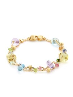 Paradise Rondelle Double Strand Bracelet by Marco Bicego at Gilt