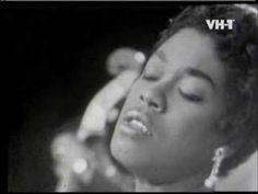 "Sarah Vaughan - Over the rainbow ~ Described as having ""one of the most wondrous voices of the century. 60s Music, Music Pics, Jazz Music, Music Songs, Good Music, Music Videos, Ella Fitzgerald, Billy Holiday, Vaughan"