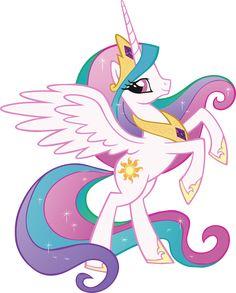 PRINCESS CELESTIA My Little Pony Decal Removable WALL STICKER Home Decor Art