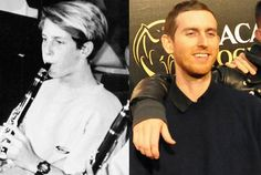 Jesse Carmichael as an Eighth Grader and Jesse Carmichael in 2011