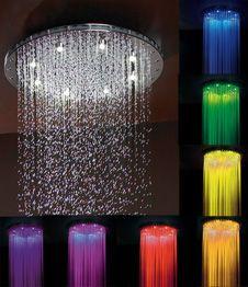 "16"" diameter Circolare chromatherapy dream light rain canopy"