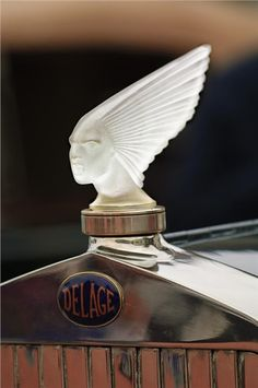 Delage Mascot (1928): 'Spirt of the Wind' by Rene Lalique.Re-pin brought to you by agents of #carinsurance at #houseofinsurance in Eugene, Oregon