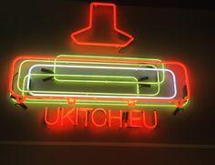 Retro logo with America's mood Neon Logo, Kitchen Design, Neon Signs, America, Mood, Retro, Cuisine Design, Retro Illustration, Usa