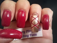 Glittery Fingers & Sparkling Toes: Raspberry Pointe Shoes