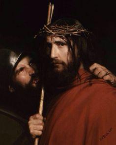 Carl Bloch, The Mocking of Christ (1880)