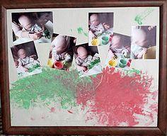 Baby kunstwerk voor Moederdag