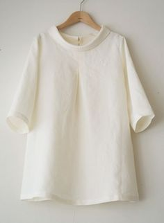 LINNET Linen blouse リネンブラウス - blouses, jeans, fashion, vintage, sari, choli blouse *ad