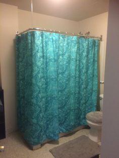 Shower Rod, Custom Shower Curtains, L Shape