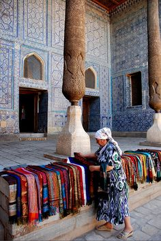 The origin of the word Uzbek remains disputed. One view believes Uzbekistan is named after Uzbeg Khan. Another states that the name means independent or the lord itself. There is another theory… Sri Lanka, Islamic Architecture, Silk Road, Arabian Nights, Ottoman Empire, World Market, People Of The World, Central Asia, Kazakhstan