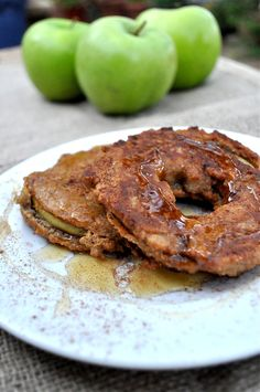 Paleo Apple Fritters #FedandFit