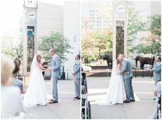 Brittan + Evan   Wedding Ceremony. Photos by Cory & Jackie. #IndianaStateMuseum