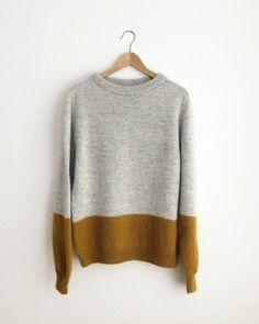 Baby Knitting Patterns Sweaters Ravelry: Contrast Sweater pattern by PetiteKnit Raglan Pullover, Pullover Sweaters, Jumper, Work Tops, Baby Knitting Patterns, Sweater Patterns, Sweater Weather, Pulls, Knitwear