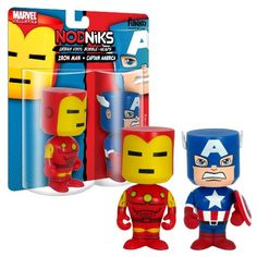 Funko  Capt Americairon Man Nodniks * You can get additional details at the image link.