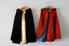 DIY Reversible Cape