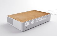 Alarm clock radio Despertador 2011 Stone Designs