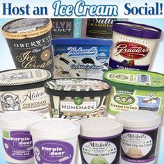 """I scream, you scream, we all scream for ICE CREAM! How can you possibly choose among GRAETER'S, HUDSONVILLE, OBERWEIS, STEVE'S, & family-owned handmade MITCHELL'S. If you prefer ORGANIC, enjoy locally-sourced THREE TWINS & new ALDEN'S. Other NEW options are PURPLE DOOR (super-premium, artisan) & """"HOMEMADE."""" Even better, select varieties of all are ON SALE thru NEXT Wed, 7/3. AND YOUR FAVORITE IS…?"""