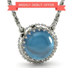 Weekly Debut Offer - 25% off as a preview sale for this new pendant. Ends 12/17. #customizable #jewelry