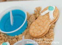 vintage party ideas | Hang 10 Retro Surf Girl Boy Beach Birthday Party Planning Ideas