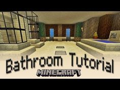 Minecraft: How To Make A Bathroom Tutorial - YouTube