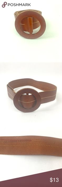 """Armani Exchange Women's Brown Belt Size Small. Armani Exchange Light Brown, burnt orange women's belt size small with """"O"""" ring buckle. Genuine leather. Great  for all year round. Waist  length is 37"""". A/X Armani Exchange Accessories Belts"""