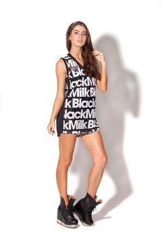 Black Milk Basketball Jersey by Black Milk Clothing (Gift)